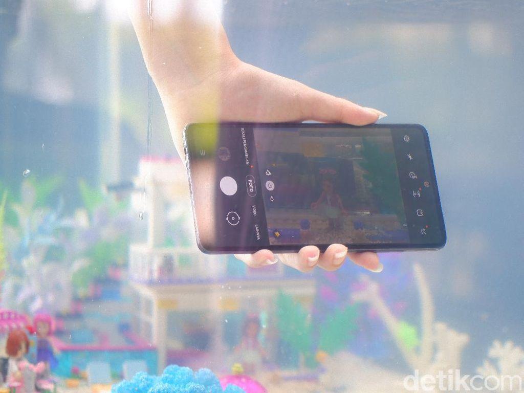 Buktikan Langsung Main Basah-basahan Pakai Samsung Galaxy A72