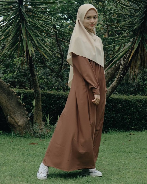 gaya hijab jihan salsabila