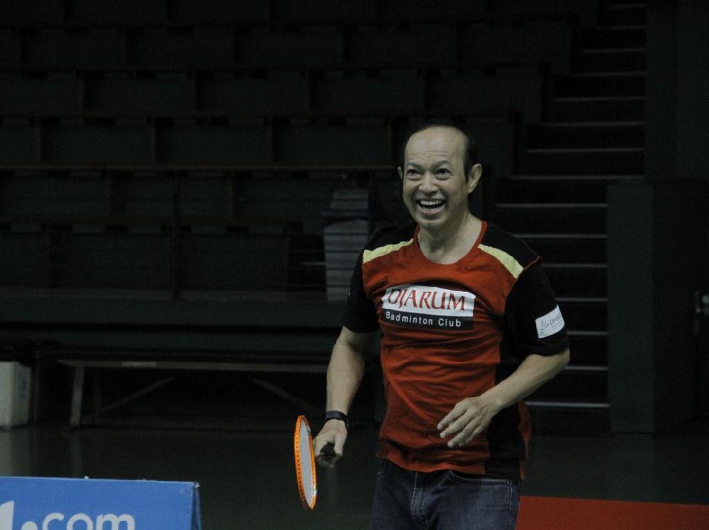 Legenda Badminton Hastomo Arbi Semangati Tim Bulutangkis RI