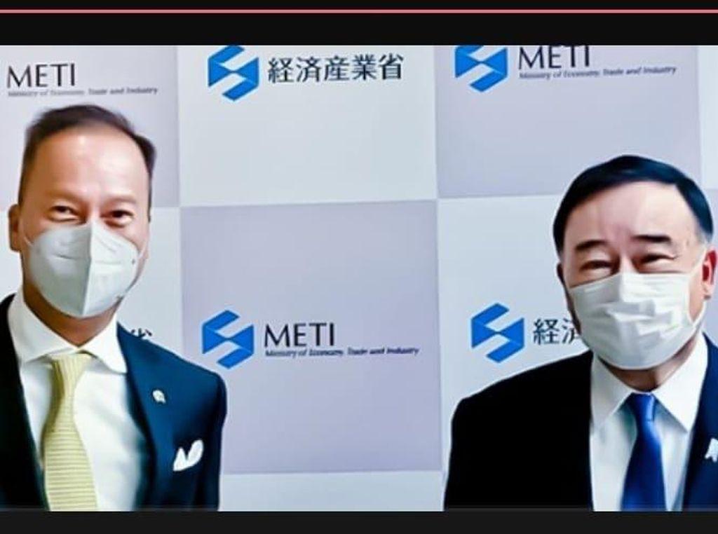 Menteri Ekonomi Jepang Apresiasi UU Cipta Kerja & Relaksasi PPnBM RI