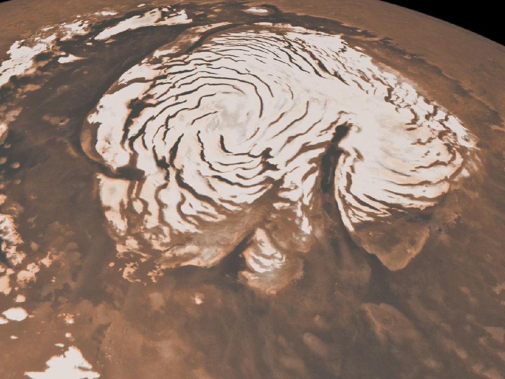 Suara Gemuruh Misterius Terdengar di Planet Mars!