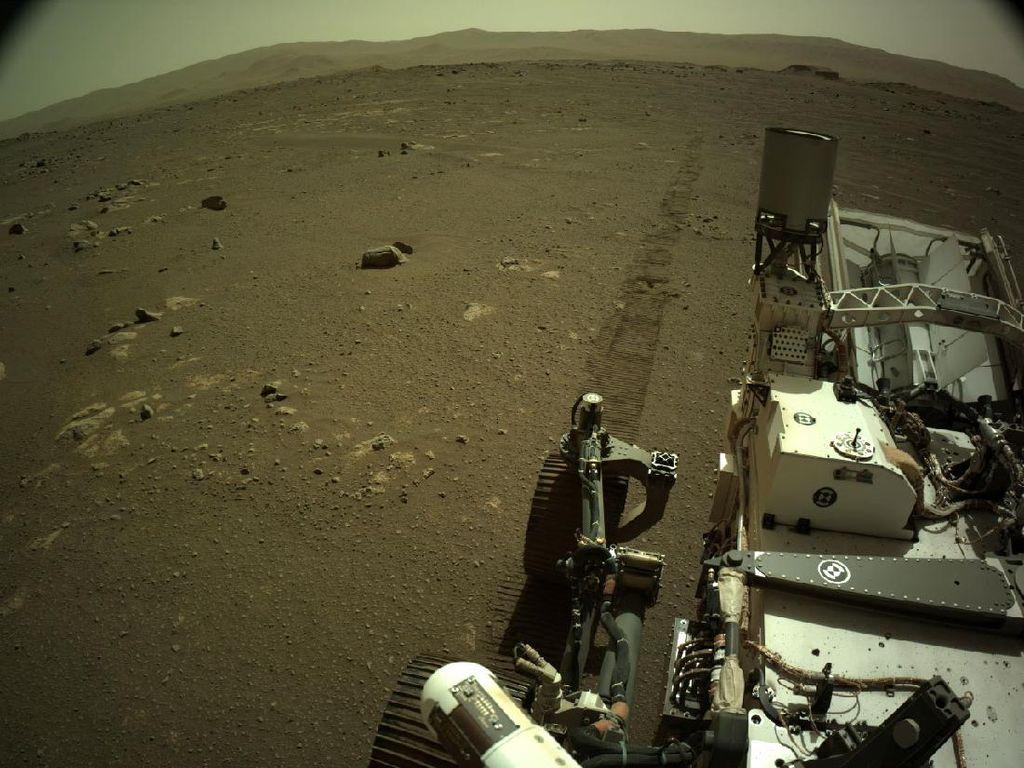 Suara Berisik Muncul Saat Robot NASA Menjelajah Mars