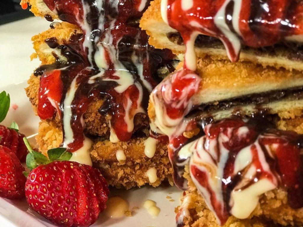 Masak Masak : Roti Tawar Goreng Isi Cokelat dan Selai yang Renyah Manis