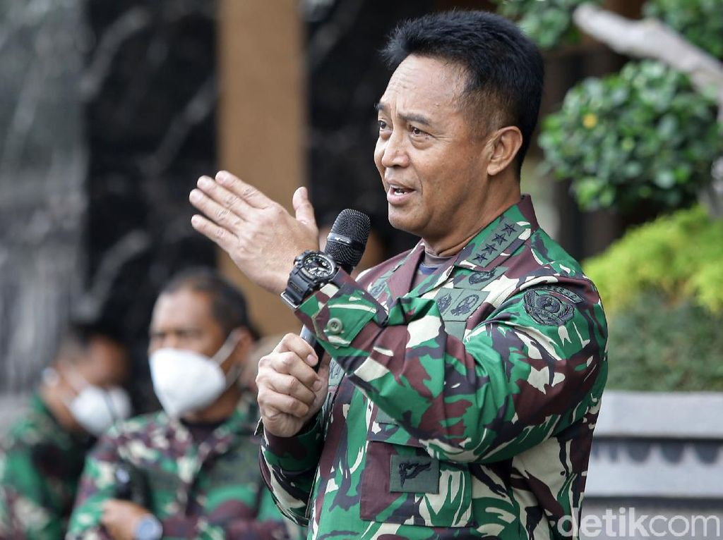 KSAD Andika Perkasa Didukung 4 Anggota DPR Ini Jadi Panglima TNI