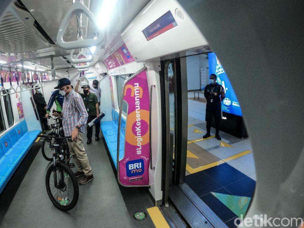 PDIP DKI Kritik Sepeda Nonlipat Masuk MRT: Tak Prorakyat