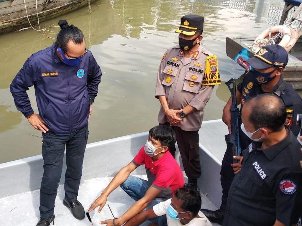 Tim Gabungan Gagalkan Penyelundupan Sabu-Ekstasi di Pantai Cermin Sumut