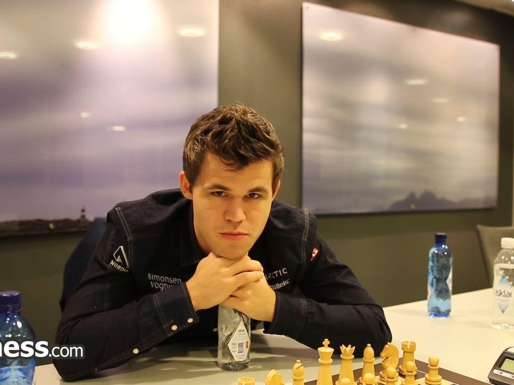 Ini Magnus Carlsen, Dewa Catur dan Peringkat 1 di Chess.com