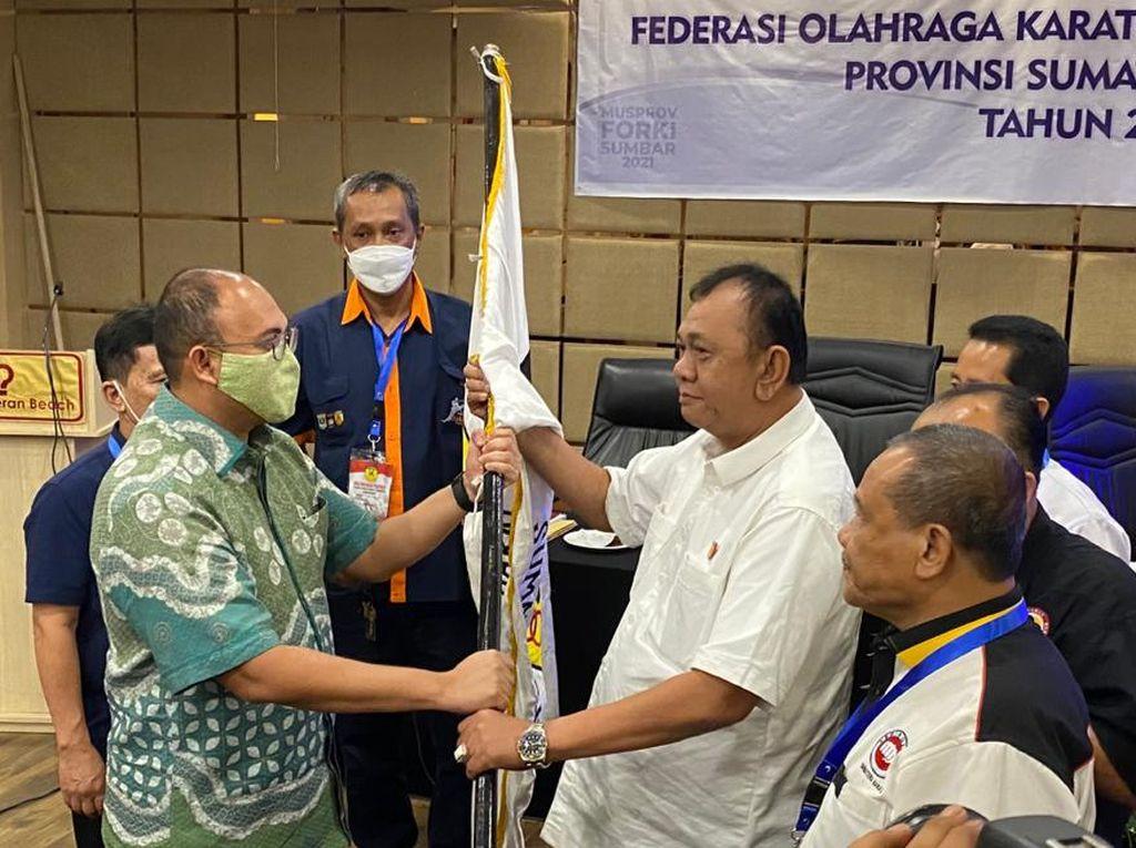 Terpilih Aklamasi Jadi Ketua FORKI Sumbar, Andre Rosiade Bidik Emas PON