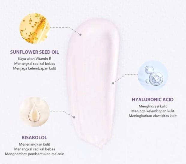 Key Ingredients You Tone Up UV Elixir