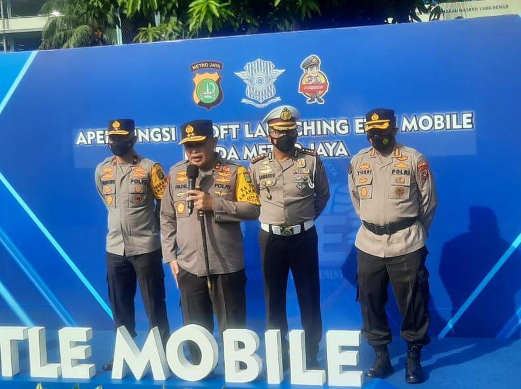 e-TLE Mobile Diluncurkan, Kapolda Metro: CCTV Bukti Mati Tak Terbantahkan