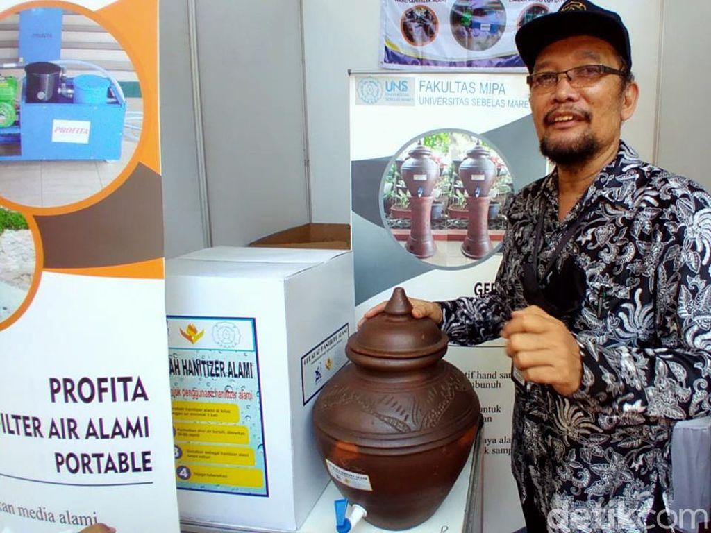 Peneliti UNS Manfaatkan Tanah Liat Jadi Hand Sanitizer Alami