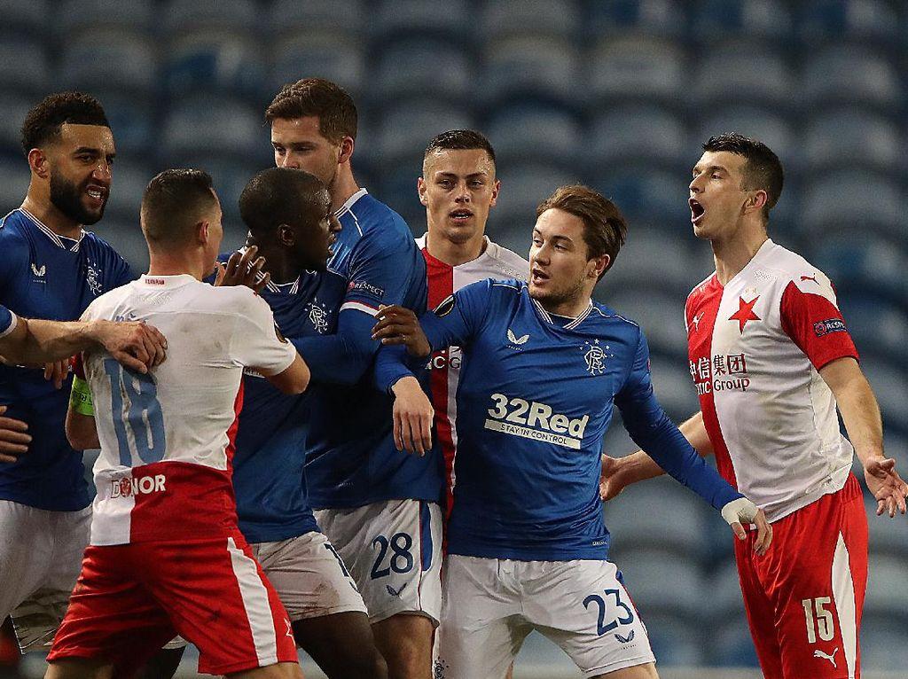 UEFA Selidiki Dugaan Rasisme di Laga Rangers Vs Slavia Praha