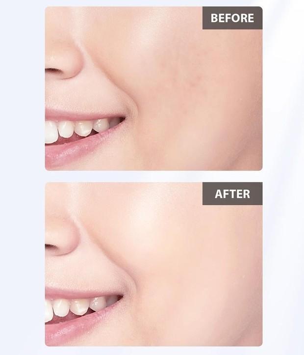 Tampilan Sebelum dan Sesudah Menggunakan Tone Up UV Elixir