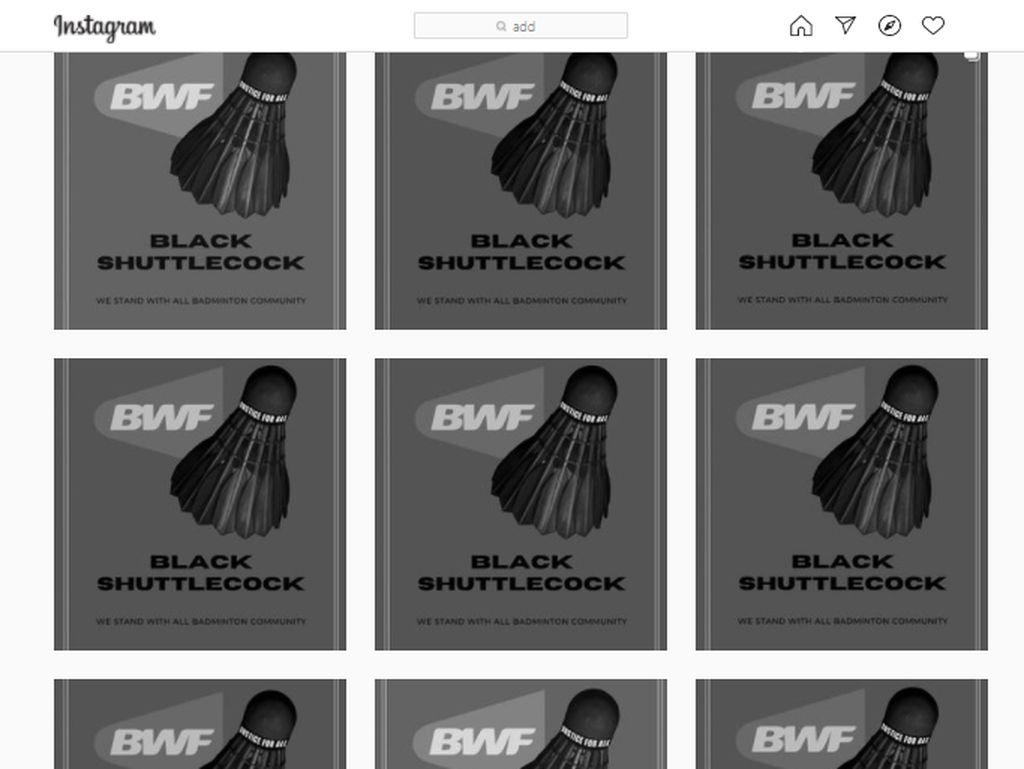 Tuntut BWF Tanggung Jawab, Black Shuttlecock Bertebaran di Medsos