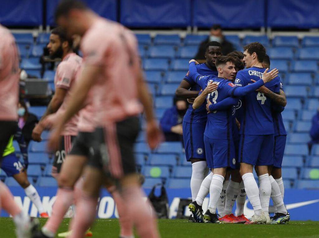 Piala FA: Chelsea Singkirkan Sheffield United 2-0