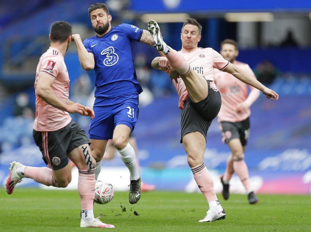 Chelsea Unggul 1-0 Atas Sheffield di Babak pertama