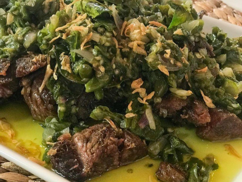 Masak Masak : Daging Sapi Sengkel Masak Cabe Hijau yang Nampol