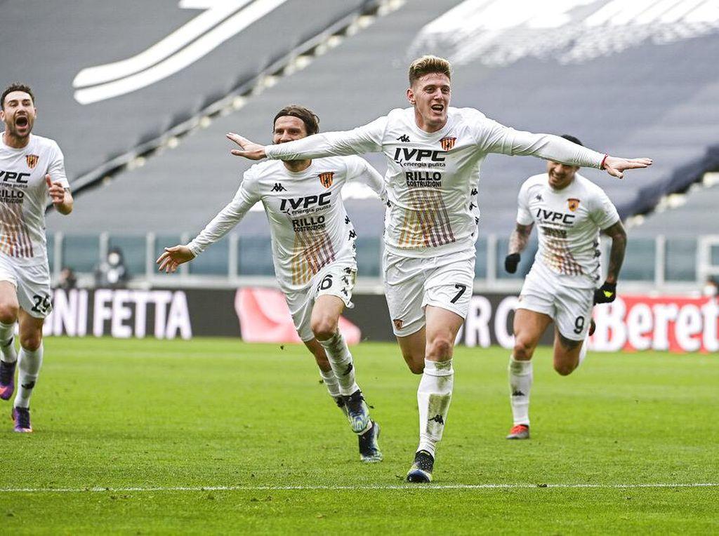 Top! Benevento Tak Terkalahkan Lawan Juventus Musim Ini