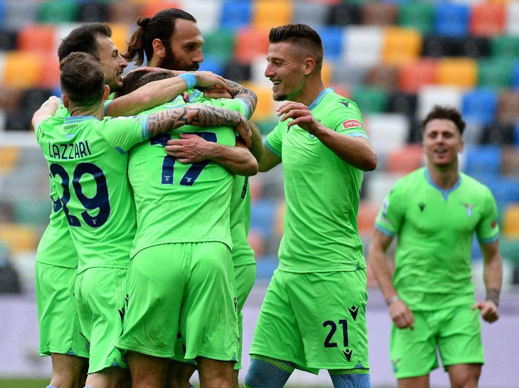 Udinese Vs Lazio: Tim Elang Ibu Kota Menang Tipis 1-0