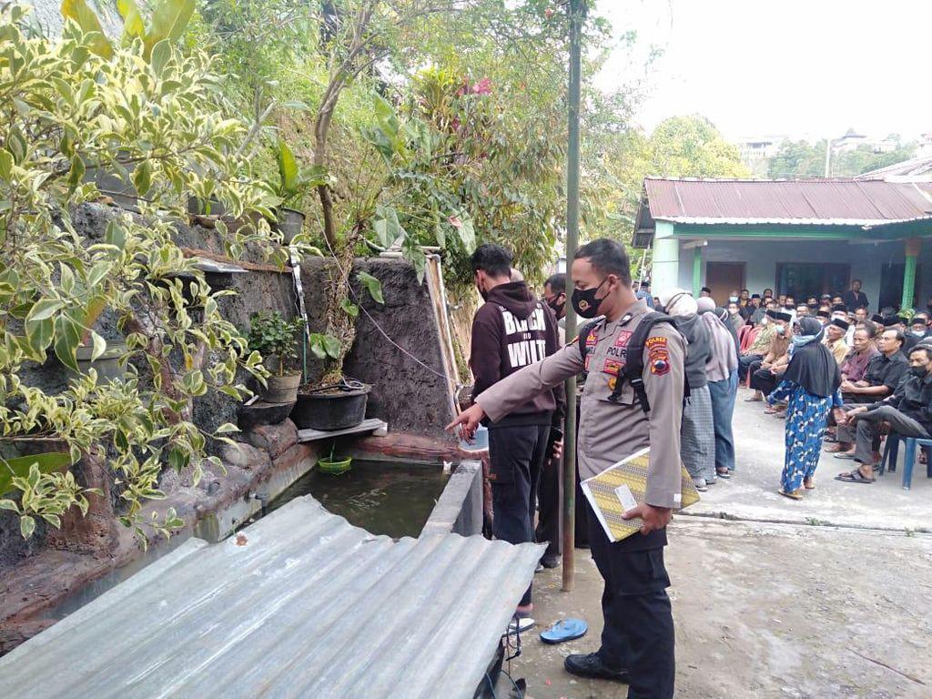 Kadus di Tawangmangu Tewas Tersengat Listrik Saat Perbaiki Kolam