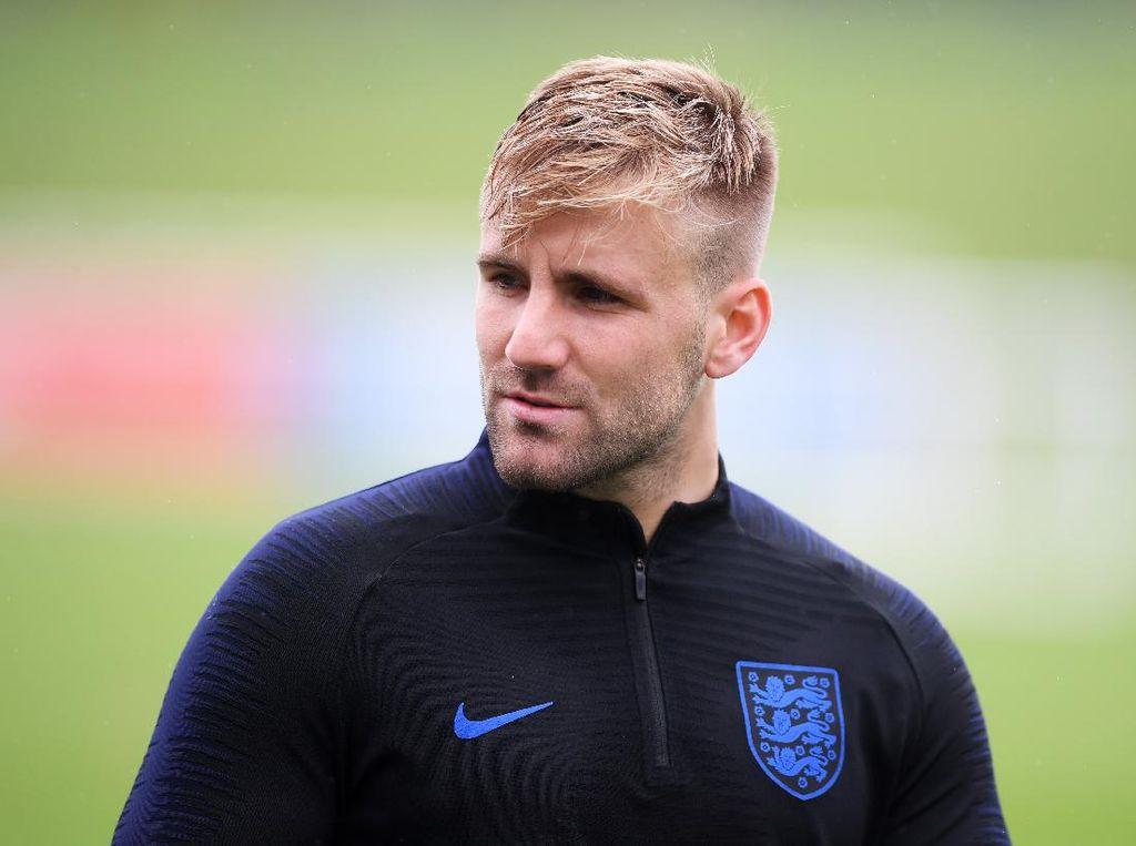 Luke Shaw Sempat Kehilangan Asa Bisa Main di Timnas Inggris Lagi