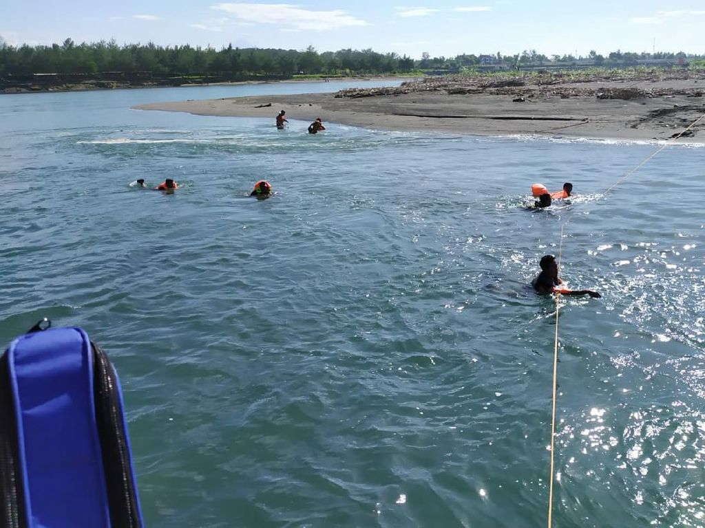 Bocah 9 Tahun Hilang Saat Wisata di Muara Sungai Serang Kulon Progo