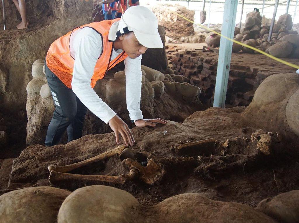 Lokasi Penemuan Kerangka Tiga Wanita di Situs Kumitir Disebut Bukan Bekas Makam