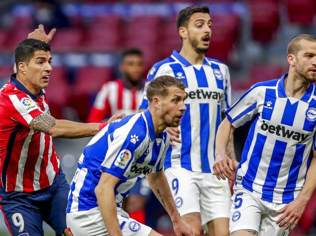 Atletico Vs Alaves: Suarez Kukuhkan Los Colchoneros di Puncak