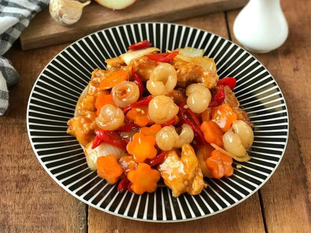 Resep Pembaca : Ayam Krispi Saus Longan yang Renyah Enak