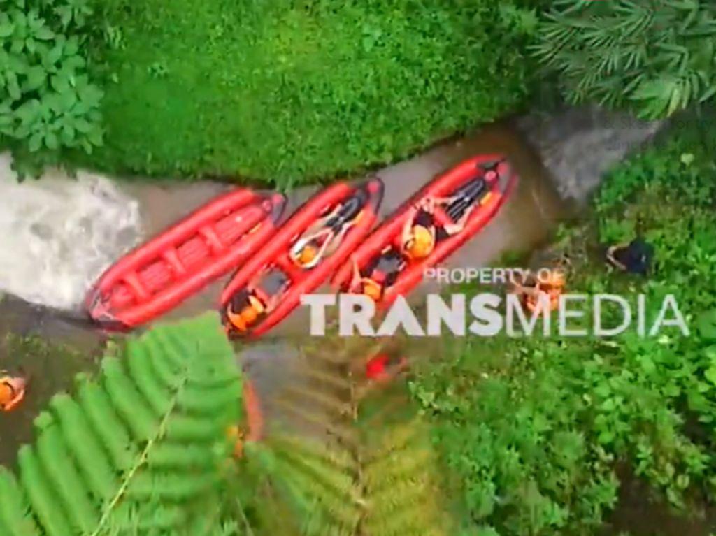 Celebrity on Vacation: Rafting Sepanjang 500 Meter di Bogor
