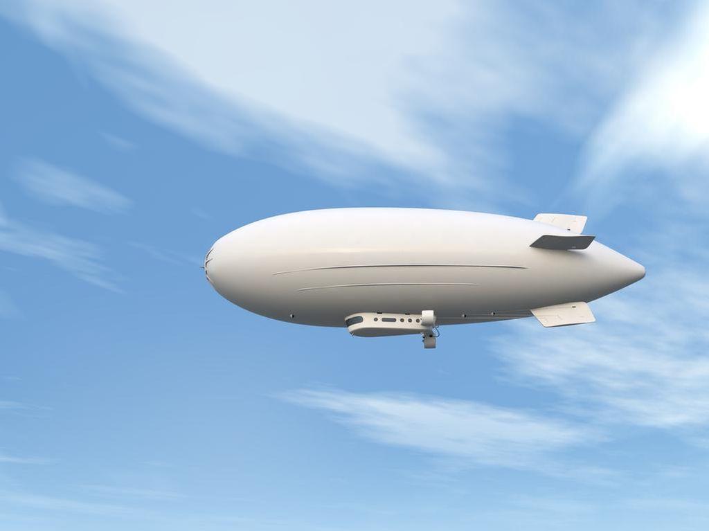 Wow, Pendiri Google Bangun Kapal Udara Terbesar di Dunia!