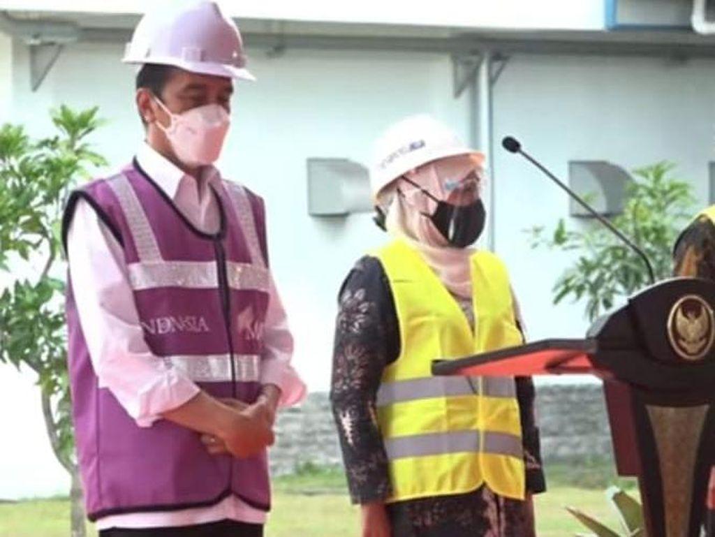 Resmikan SPAM Umbulan, Jokowi: Air Langsung Bisa Dimanfaatkan