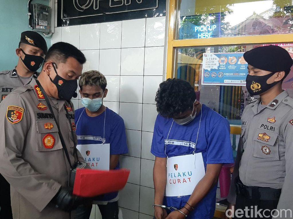 Terekam CCTV, Kawanan Pencuri di Kafe Bogor Diringkus Polisi