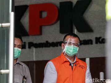 Lagi, Tersangka Korupsi Ekspor Benur Edhy Prabowo Diperiksa KPK