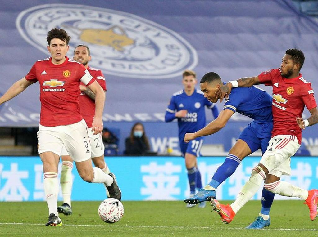 Data & Fakta Manchester United Vs Leicester City