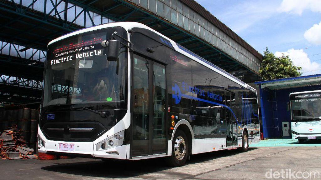 Mengintip Bus Listrik yang Siap Meluncur di Jakarta