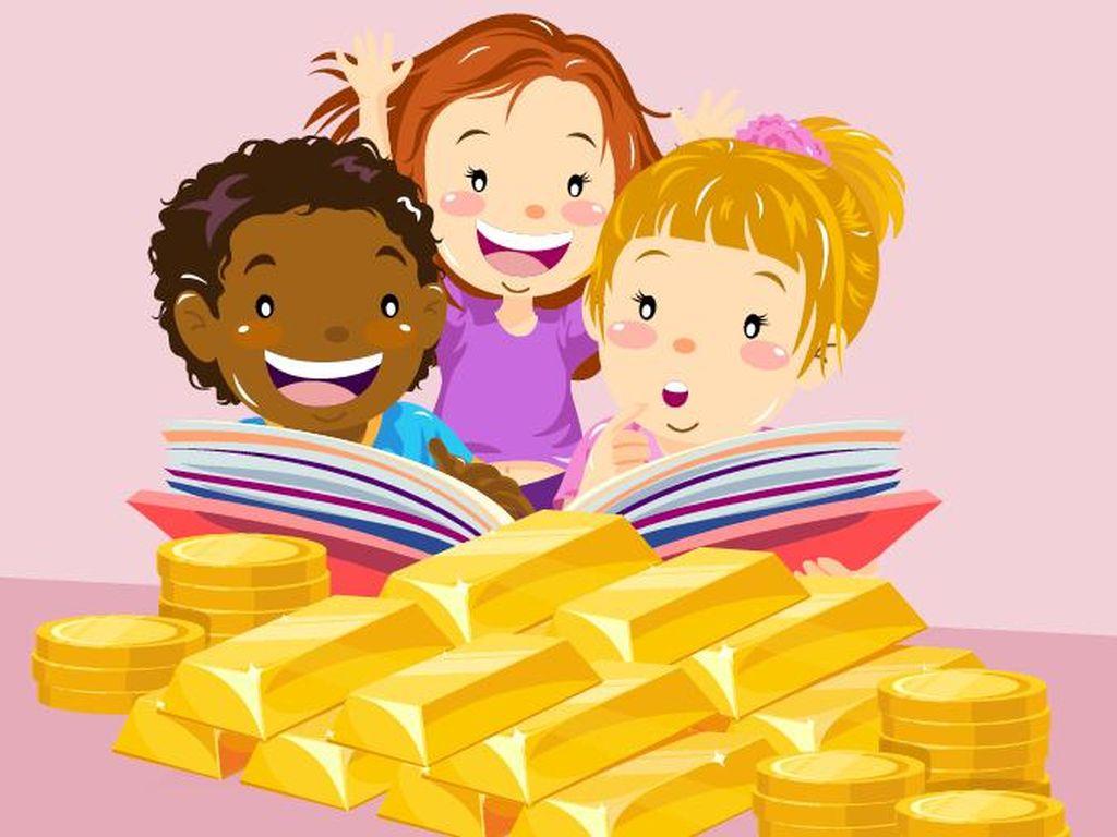 4 Langkah Nabung Emas untuk Sekolah Anak