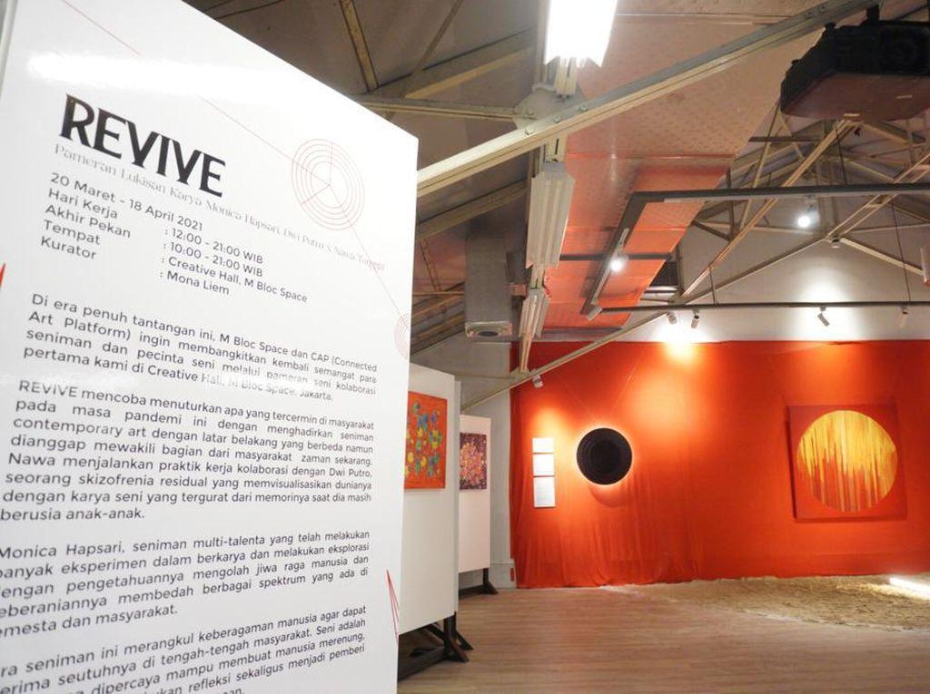 Pameran Seni Kolaborasi Connected Art Platform dan M Bloc Space Hadir Perdana