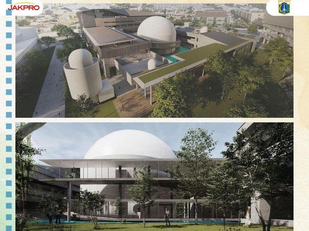 Potret Desain Planetarium Jakarta Terkini