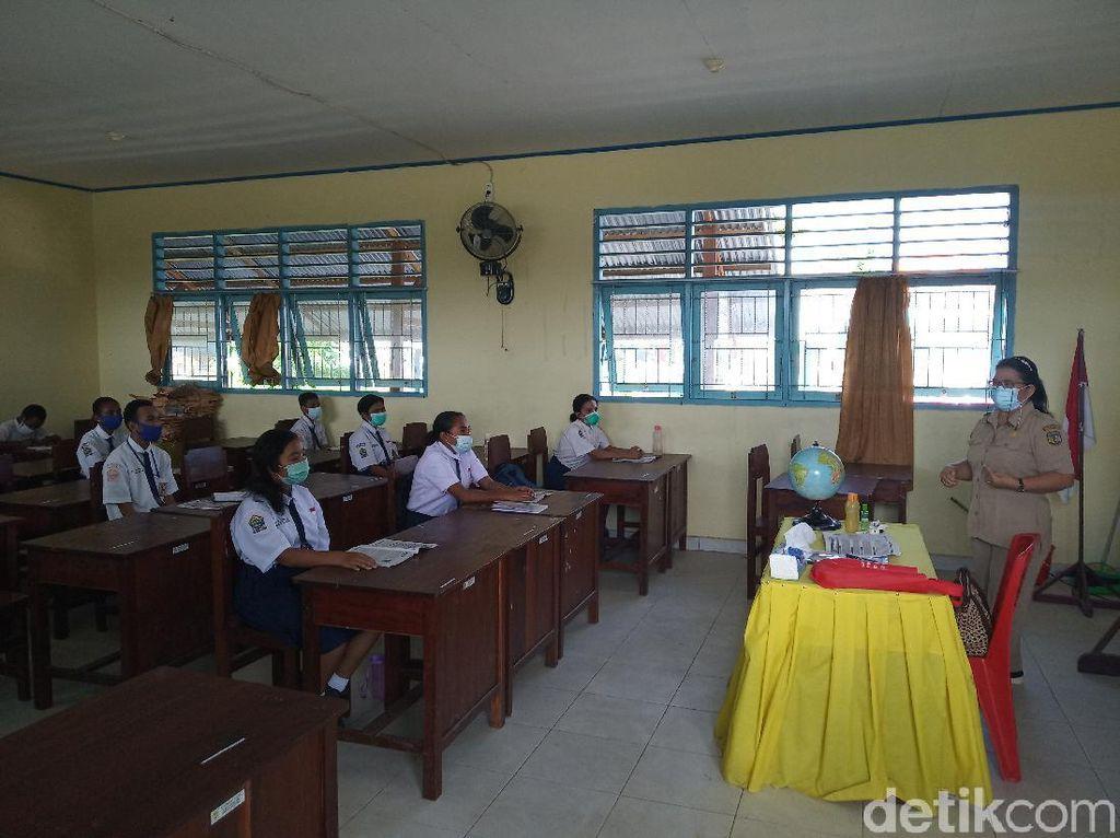 Disdik Mimika Izinkan Sekolah Tatap Muka untuk Kelas VI SD dan IX SMP