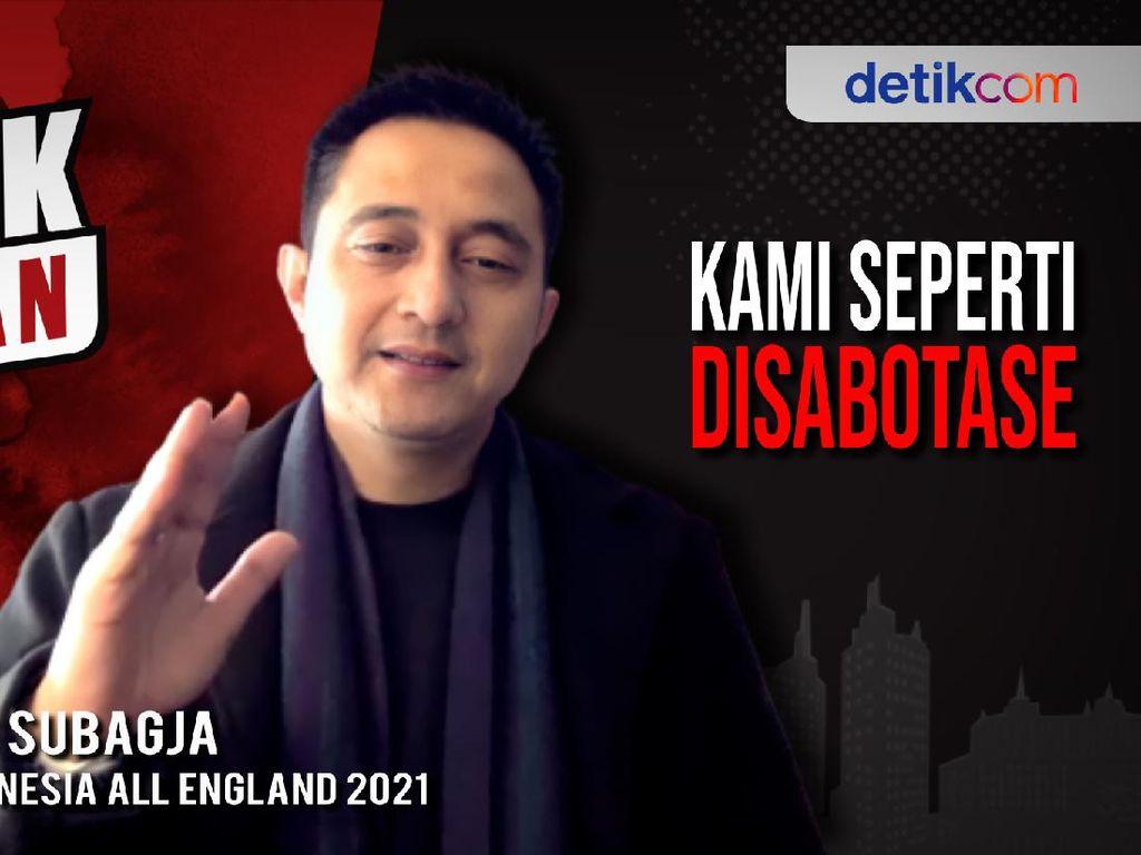 Blak-blakan Ricky Subagja: Kami Didiskriminasi dan Disabotase