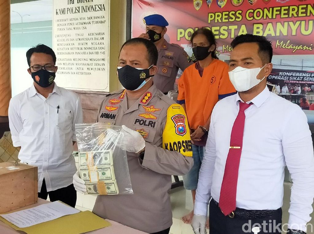 Tersangka ke-12 Kasus Rp 4,5 T Uang Asing Palsu Ditangkap