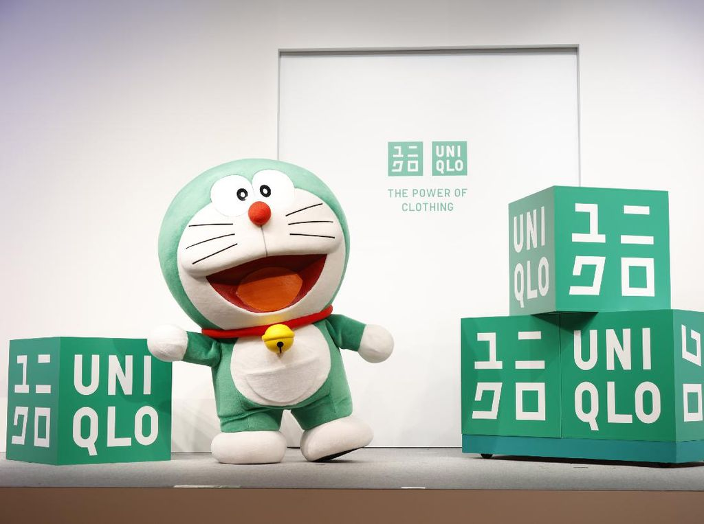 Uniqlo Hadirkan Doraemon Tak Lagi Warna Biru Tapi Hijau, Ini Alasannya