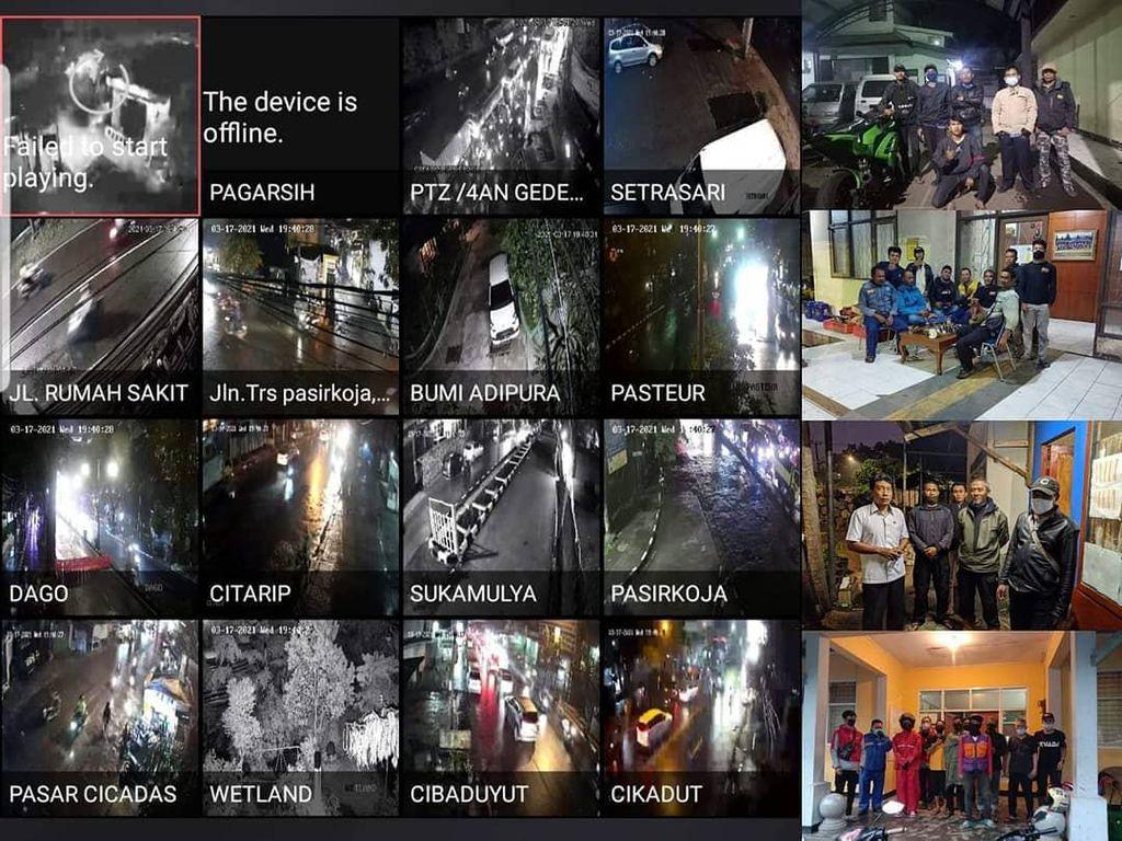 16 CCTV Pantau Wilayah Rawan Banjir di Kota Bandung