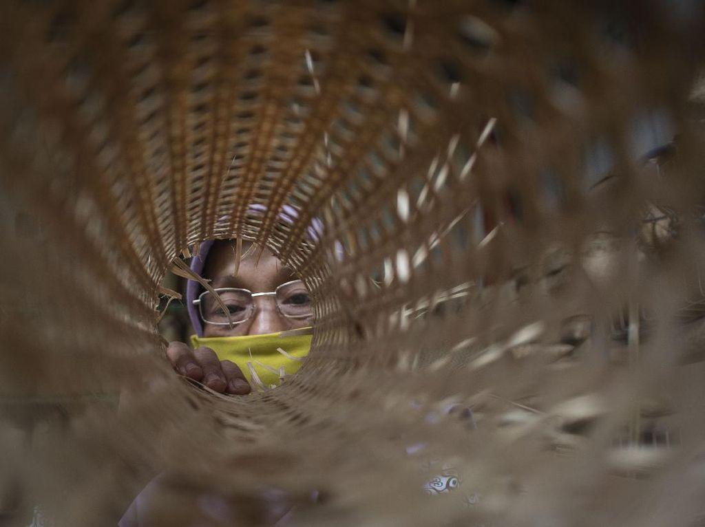 Anyaman Loyok dari Lombok Siap Go Internasional