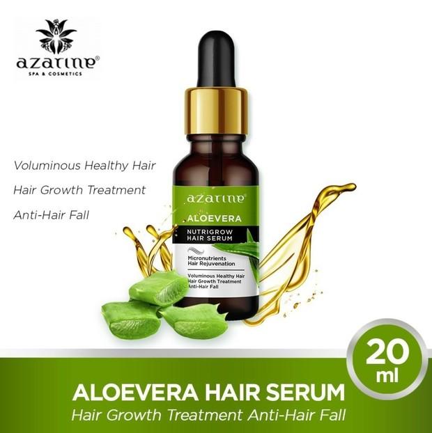 Azarine Hair Serum Nutrigrow Aloevera/shopee.co.id/azarinecosmetic