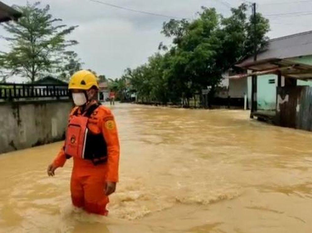 Banjir di Balikpapan, Ratusan Rumah Warga Terendam