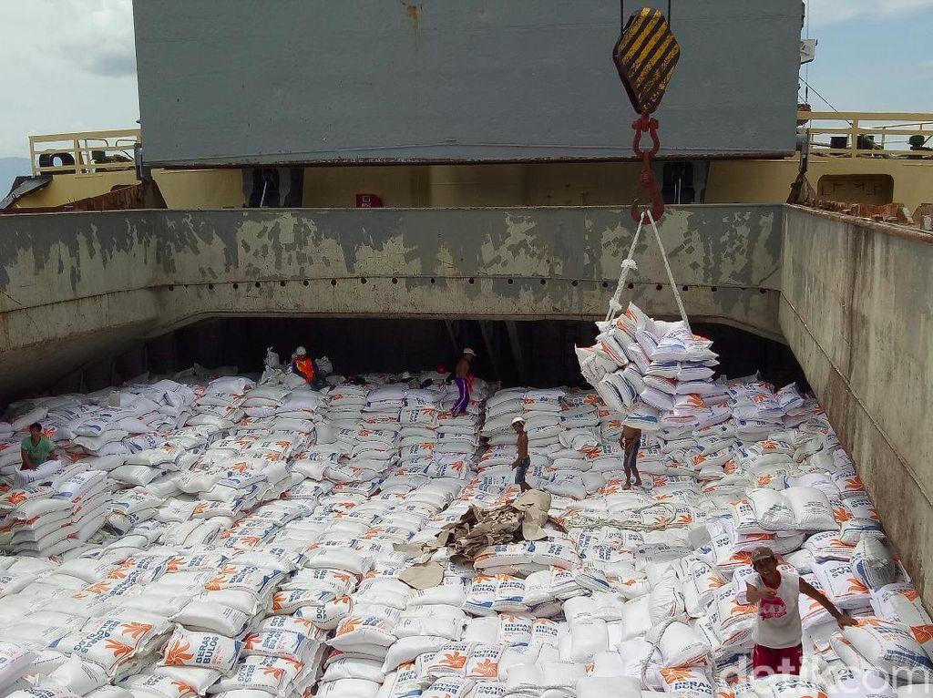 3.000 Ton Beras Vietnam Sisa Impor 2018 Masih Ngendon di Banyuwangi