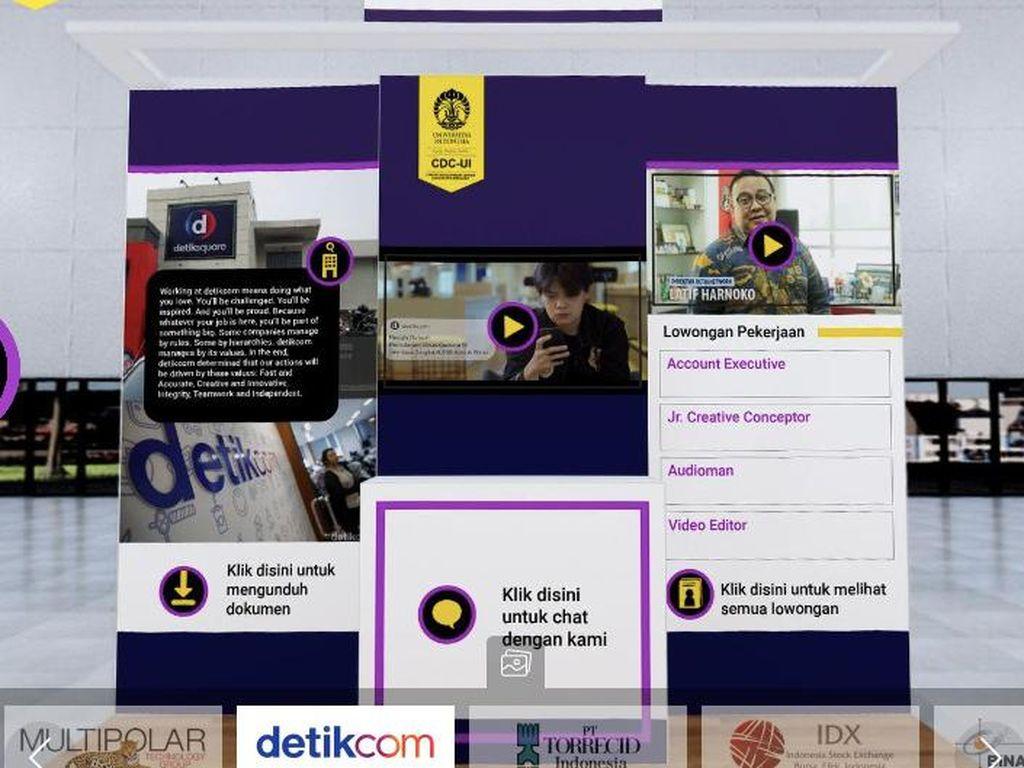 detikcom Buka Lowongan Kerja di Virtual Job Fair UI, Cek di Sini!