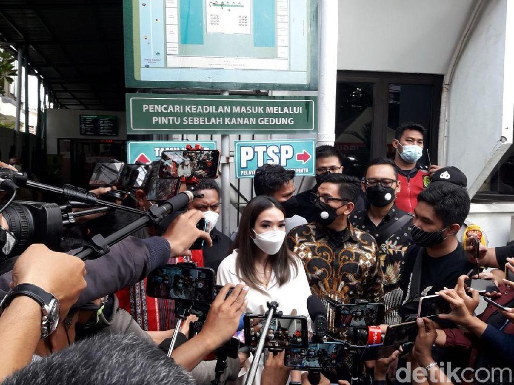 Jadi Saksi, Ini yang Disampaikan Gisel di Sidang Penyebar Video Syur